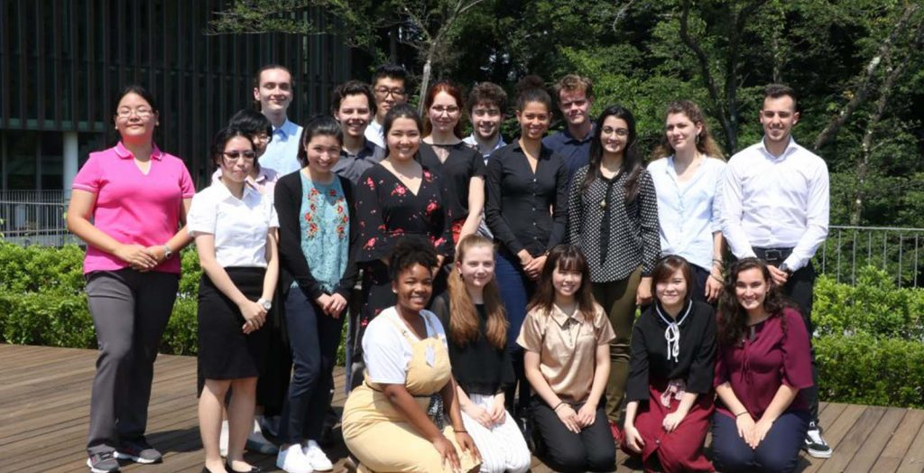 Ashinaga Internship Program Begins in Tokyo