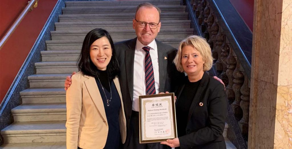 Prof. Flemming Besenbacher Joins the Kenjin-Tatsujin International Advisory Council