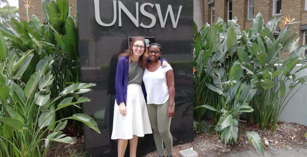 Ashinaga staff visits Ashinaga Africa Initiative Scholars currently studying in Australia