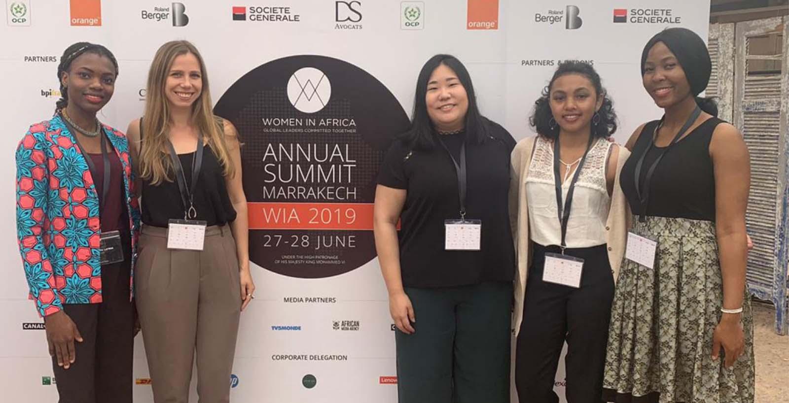 AAI Scholars attended the Women In Africa (WIA) Summit in Marrakech
