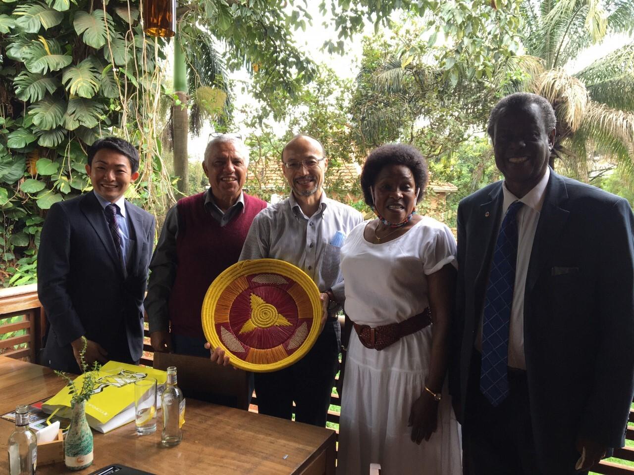 Kenjin-Tatsujin Meet in Uganda