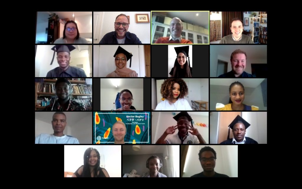 Congratulations to the 2021 Graduating Cohort in the UK!