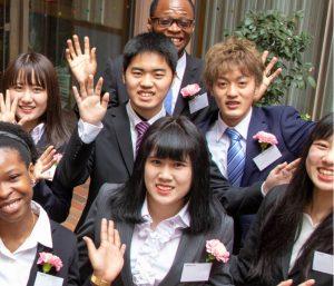 students at Kokoro-juku