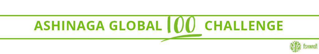 ASHINAGA GLOBAL 100 CHALLENGE