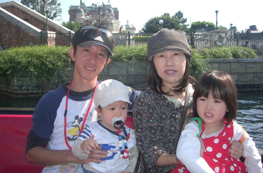 ケイさん家族写真