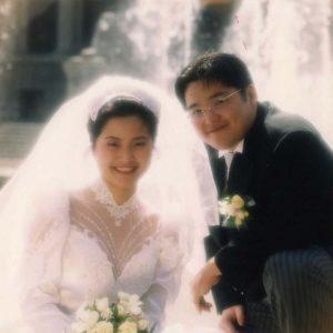 リエさん結婚写真