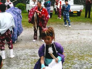 平ノ上さんお祭りの一枚