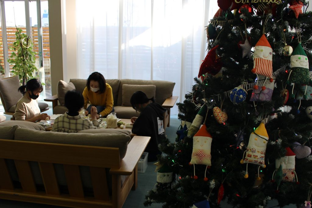 クリスマス会@東北レインボーハウス