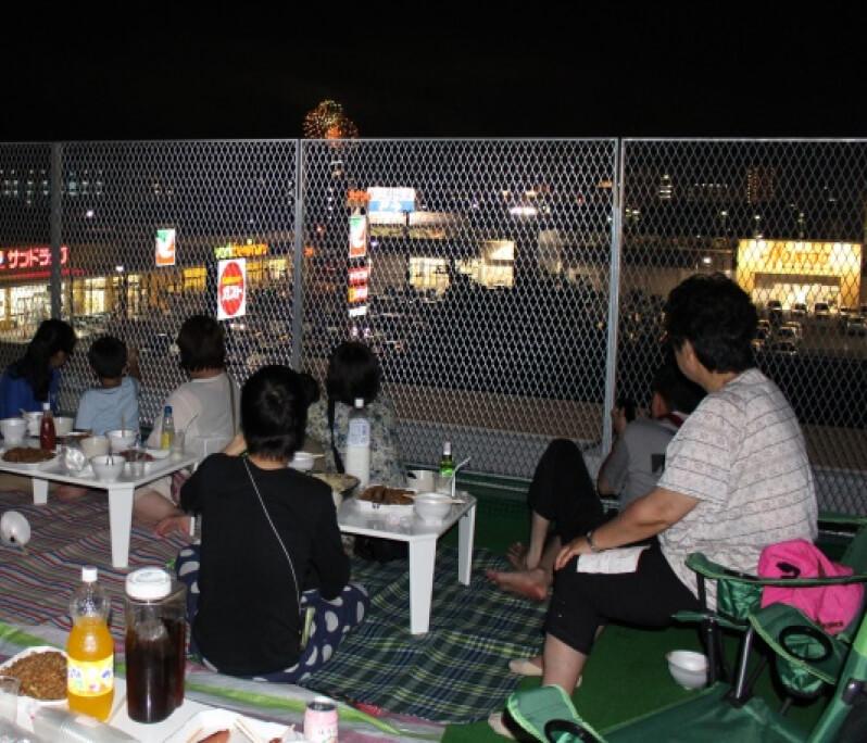 8月「川開き祭り開館日・お泊り会」